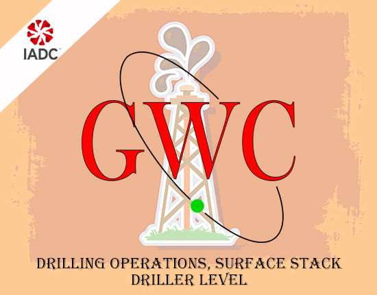 Global Well Control IADC Drilling Operations Surface Stack Driller Level